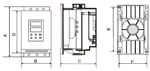 55kw四级电机接线图