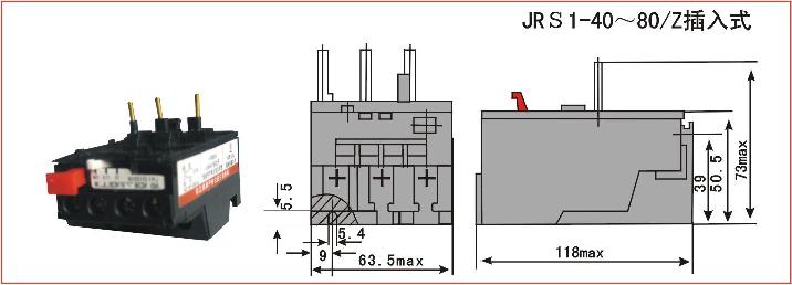 jrs1热过载继电器